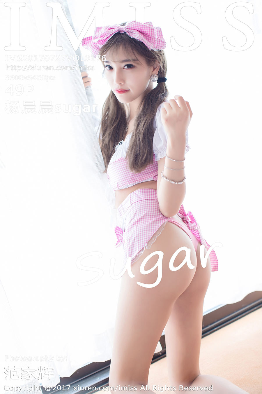 [IMISS爱蜜社] VOL.176 杨晨晨sugar [49+1P/127M]