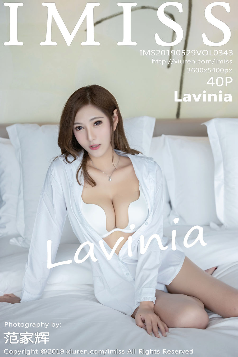 [IMISS爱蜜社] VOL.343 Lavinia [38+1P/87M]