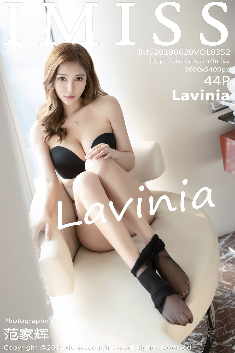[IMISS爱蜜社] VOL.352 Lavinia [52+1P/108M]