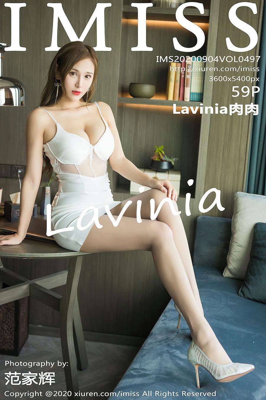 [IMISS爱蜜社] VOL.497 Lavinia肉肉 [59+1P/521M]