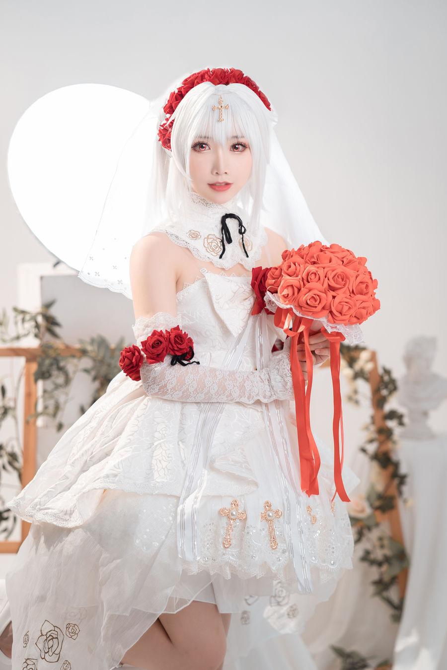 [面饼仙儿] 德丽莎婚纱 [13P/92M]