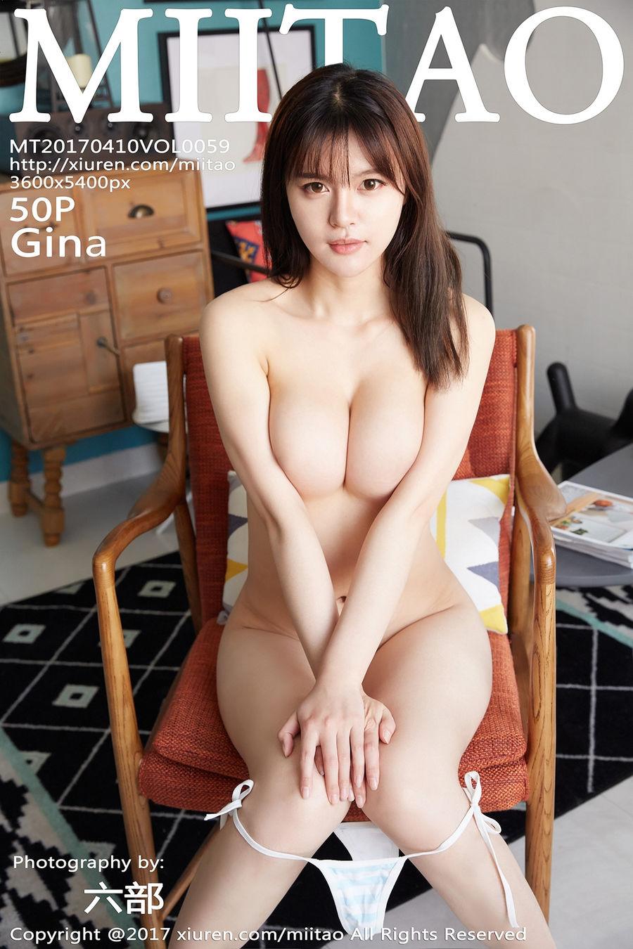 [MiiTao蜜桃社] VOL.059 Gina [50+1P/172M]