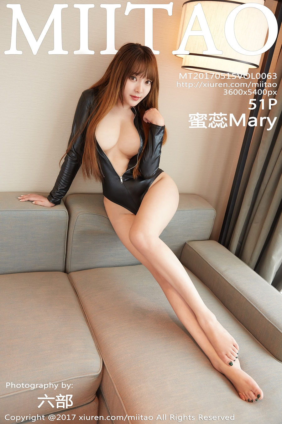 [MiiTao蜜桃社] VOL.063 蜜蕊Mary [51+1P/181M]