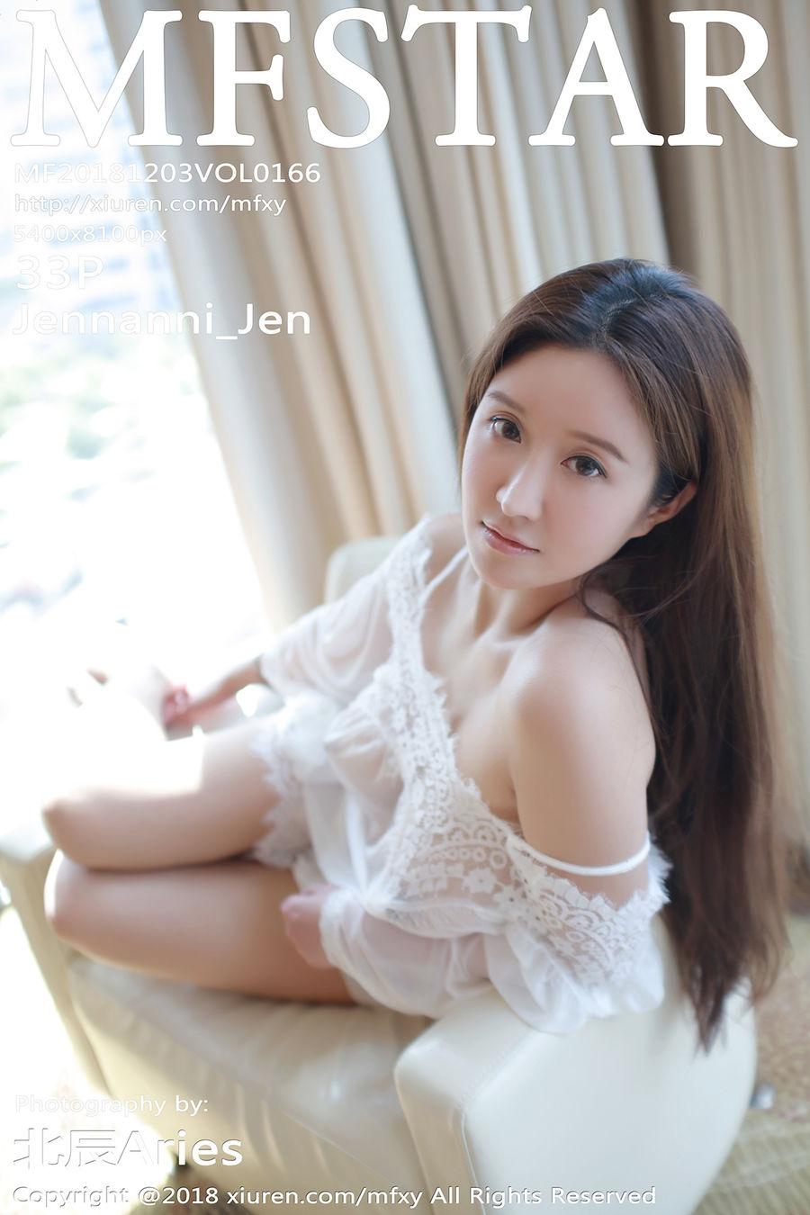 [MFStar模范学院] VOL.166 Jennanni_Jen [33+1P/144M]